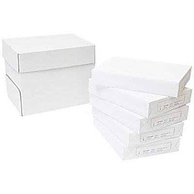 Kopieringspapper A4 White Box Hålat